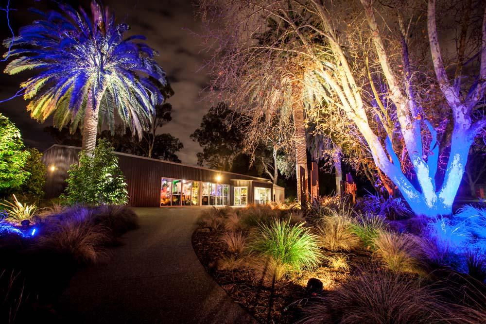Leopard Lodge - At Night