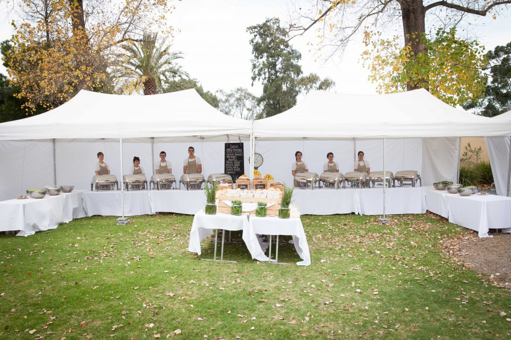 Corporate Family Day Marquee