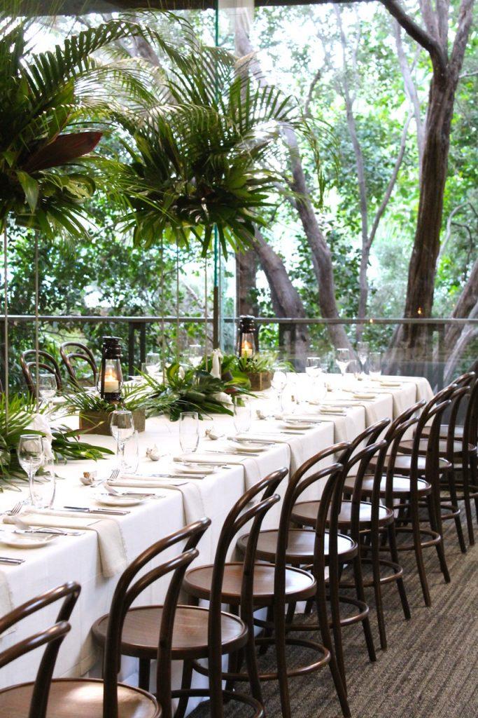Rainforest Room - Long Tables