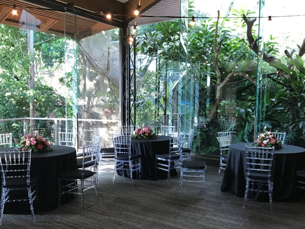 Rainforest Room - Round Tables